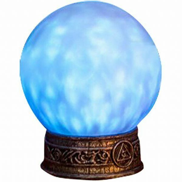 Halloween Crystal Ball with Light & Sound (21cm)